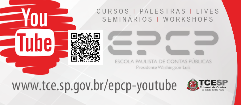 Youtube TCESP - Visite nosso canal